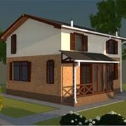 Дома коттеджи жилые, Проект Мария + масандра фото