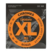 Струны для электрогитары D'Addario ECG23 XL Chromes Extra Light (6 струн .10-.48) фото