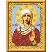 Набор для вышивания икон Святая Мученица Галина КТК - 3027 фото