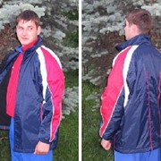 Ветровка спортивная мужская фото