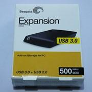 Накопитель HDD 500 Gb USB3.0 Seagate Expansion STBU500200 2,5 внешний Black фото