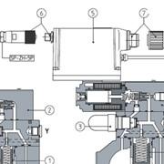 Пропорциональные предохранительные клапаны типа AGMZO фото