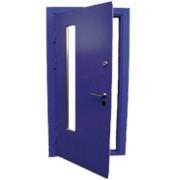 Порошковая покраска металлических дверей фото