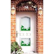 Дверь задняя пластиковая- выход в сад. фото