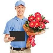 Услуга по доставке цветов фото