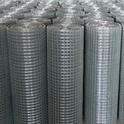 Сетка тканая оцинкованная 10x10x1.2 ГОСТ 3826-82, сталь 3сп5, 10, 20 фото