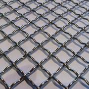 Сетка тканая оцинкованная 0.8x0.8x0.4 ГОСТ 3826-82, сталь 3сп5, 10, 20 фото