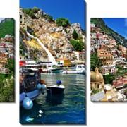 Модульная картина Греция_2, Неизвестен фото