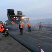 Строительство автомобильных дорог. фото