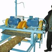 Пилорама двухпильная для обработки тонкомера АМ-214 фото