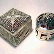 Серебрение металла фото