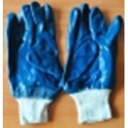 Перчатки нитрилов синие фото