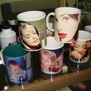 Фото на чашках ,пресс для нанесения фото на чашки -Быстрая окупаемость, стабильный доход! фото