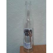 Бутылка ГУАЛА, колпак, этикетка. фото