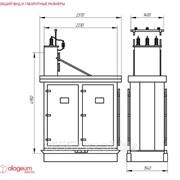Комплексная конденсаторная установка типа кку 6,3-10,5 фото