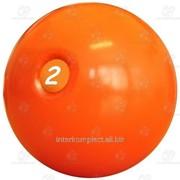 Мяч для атлетических упражнений 2 кг фото