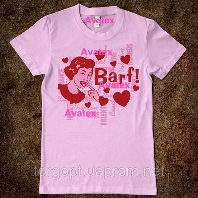 Печать вышивка на футболке 89