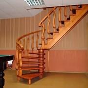 Лестницы деревянные на заказ качественно. красиво! фото