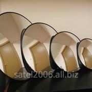 Зеркало сферическое обзорное безопасности D600 фото