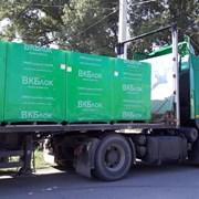 Доставка газобетнных блоков фото