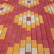Тротуарная плитка Брусчатка фото