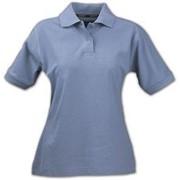 Рубашка поло женская SEMORA, голубая, размер XXL фото