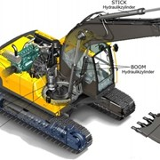 Гарантийный ремонт и поставка гидравлики, Поставка и ремонт гидравлики фото