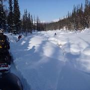 Туры на снегоходах фото