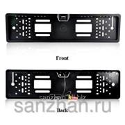 Номерная рамка с камерой заднего видакомплект european car licence plate rearview camera RD - CK 360 86346 фото