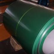 Рулон оцинкованный, крашенный с полимерным покрытием RAL фото