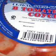 Пресервы из сельди филе кусочки в томатном соусе фото