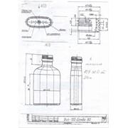 Бутылка стеклянная Виа-100-Бомба (0,1 л) фото