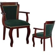 Кресла из массива дерева для казино W-08 фото