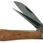Нож для резки кабеля с деревянной ручкой Haupa фото