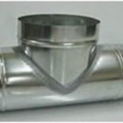 Тройник (ф115) 0,8 90 гр нерж AISI - 430ВА фото