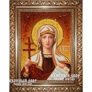 Именная Икона Атьяна Мученица Из Янтаря, цена, Украина, Код товара: Оар-109 фото
