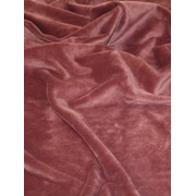 Мех Velboa (мокрый эффект) для верхней одежды dark lilac-1 фото