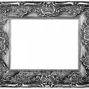 Рамка металлическая для картин фото