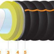 Труба пластиковая в теплоизоляции Изола.Про фото