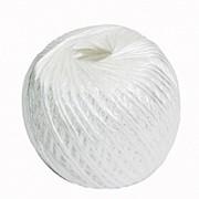 Шпагат П/П клубочек белый 100м фото