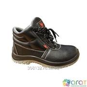 Ботинки юфтевые Скорпион - Зима ПУ-ТПУ на искусственном меху фото