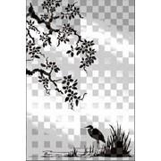 Обработка пескоструйная на 2 стекло артикул 103-02 фото