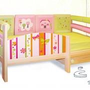 Кровать детская с бортом безопасности фото