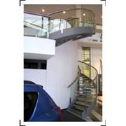 Овальная лестница. фото
