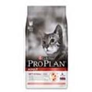 Корм Pro Plan Adult для взрослых кошек с лососем и рисом 0.4 кг фото
