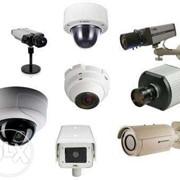 Установка систем видеонаблюдения (Аналоговые,IP-Камеры,) фото
