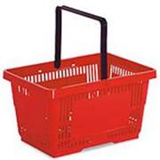 Корзины для супермаркетов фото