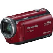 Видеокамера Panasonic HDC-SD 80 EE-R red фото