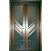 Двери деревянные раздвижного типа (№84) фото