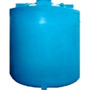 Пластиковая емкость объемом 8000 л с крышкой 520 мм (код 8000ВФК2) фото